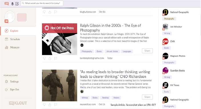 KLOUT REVIEW