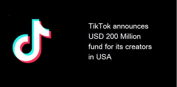 tiktok 200 million fund creators usa