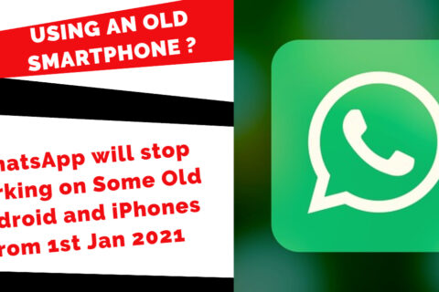 Still Using an Old Smartphone Like Samsung Galaxy 2- WhatsApp will stop working in 2021