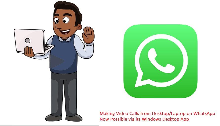 WIndows Laptop Desktop Whatsapp call
